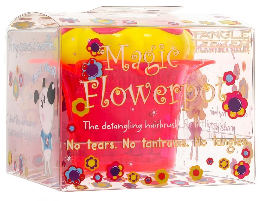 Hair Brush - Tangle Teezer Magic Flowerpot Princess Pink