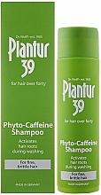 Fragrances, Perfumes, Cosmetics Anti Hair Loss Shampoo for Thin & Brittle Hair - Plantur 39 Coffein Shampoo
