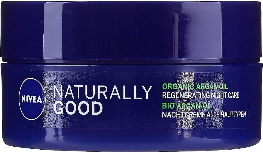 Restoring Night Cream for All Types of Skin - Nivea Naturally Good Night Regeneration Care