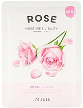 Fragrances, Perfumes, Cosmetics Sheet Mask - It's Skin The Fresh Rose Mask Sheet