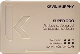 Fragrances, Perfumes, Cosmetics Strong Hold Styling Gel - Kevin.Murphy Super.Goo Firm Hold Rubbery Gel