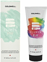 Fragrances, Perfumes, Cosmetics Hair Color - Goldwell Elumen Play Semi-Permanent Hair Color Oxydant-Free (Black)