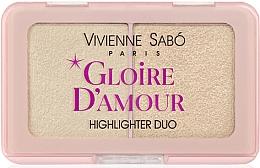 Fragrances, Perfumes, Cosmetics Highlighter Palette - Vivienne Sabo Vs Gloire D'Amour