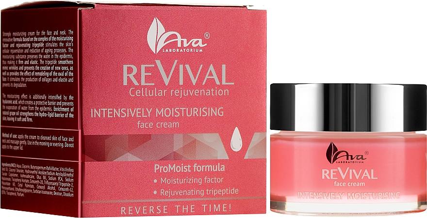 Intensively Moisturizing Face Cream - Ava Laboratorium Revival