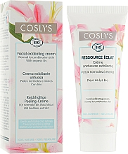 Fragrances, Perfumes, Cosmetics Exfoliating Face Cream with Lily Extract for Normal & Combination Skin - Coslys Facial Care Exfoliating Facial CreamWith Lily Extract