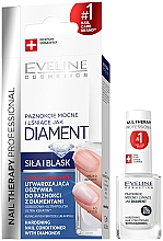 Fragrances, Perfumes, Cosmetics Nail Diamond Repairing Complex - Eveline Cosmetics Nail Therapy Professional