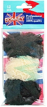 Fragrances, Perfumes, Cosmetics Hair Net - Ronney Professional 3222/MIX/12