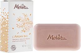 Fragrances, Perfumes, Cosmetics Face and Body Soap - Melvita L'Argan Bio Soap With Argan Oil
