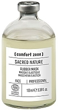 Fragrances, Perfumes, Cosmetics Face Mask - Comfort Zone Sacred Nature Rubber Mask