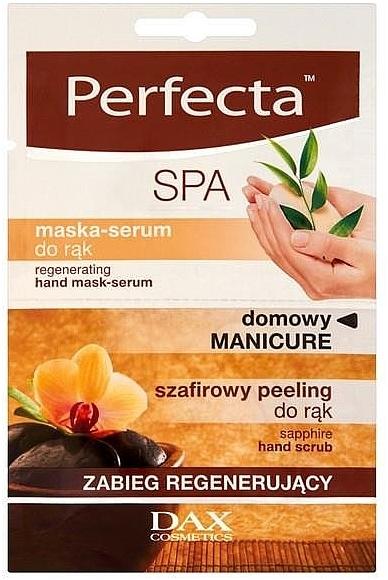 Regenerating Hand Serum Mask - Perfecta Spa Hand Peeling