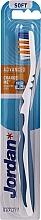Fragrances, Perfumes, Cosmetics Toothbrush Soft Advanced, no cap, blue - Jordan Advanced Soft Toothbrush