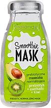 """Fragrances, Perfumes, Cosmetics Normalizing Mask """"Avocado + Kiwi"""" - Bielenda Smoothie Mask Prebiotic Normalizing Mask"""