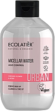 """Fragrances, Perfumes, Cosmetics Makeup Remover Micellar Water """"Orchid Flower & Rose"""" - Ecolatier Urban Micellar Water Age Control"""