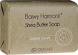 Fragrances, Perfumes, Cosmetics Green Olives Soap - Barwa Harmony Green Olive Soap