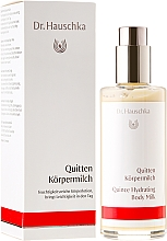 "Fragrances, Perfumes, Cosmetics Body Lotion ""Quince"" - Dr. Hauschka Quince Hydrating Body Milk"