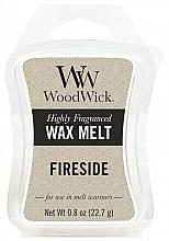 Fragrances, Perfumes, Cosmetics Scented Wax - WoodWick Wax Melt Fireside