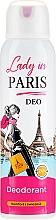 Fragrances, Perfumes, Cosmetics Deodorant - Lady In Paris Deodorant