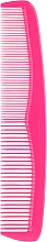 Fragrances, Perfumes, Cosmetics Hair Comb 60212, pink - Top Choice Colours