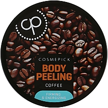 Fragrances, Perfumes, Cosmetics Sugar Body Peeling with Coffee Extract - Cosmepick Body Peeling Coffee
