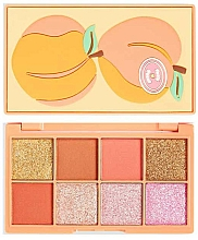 Fragrances, Perfumes, Cosmetics Eyeshadow Palette - I Heart Revolution Mini Tasty Peach Eyeshadow Palette