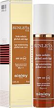 Fragrances, Perfumes, Cosmetics Facial Sun Cream - Sisley Sunleya G.E. SPF 30