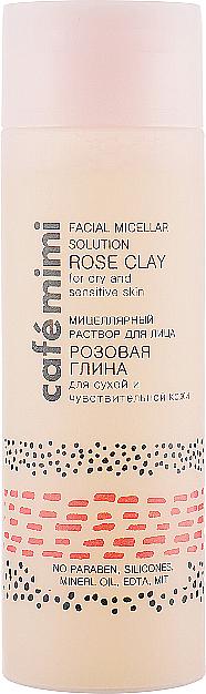 "Facial Micellar Solution ""Rose Clay"" - Cafe Mimi Facial Micellar Solution Rose Clay"