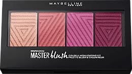 Fragrances, Perfumes, Cosmetics Blush Palette - Maybelline Rouge Palette Master Blush Palette