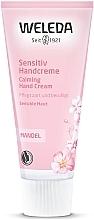 Fragrances, Perfumes, Cosmetics Delicate Almond Hand Cream - Weleda Mandel Sensitiv Handcreme