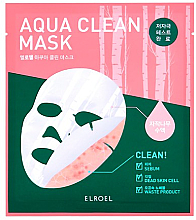 Fragrances, Perfumes, Cosmetics Biocellulose Mask - Elroel Aqua Clean Mask