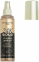 Fragrances, Perfumes, Cosmetics Makeup Fixing Spray - Revolution Pro 24K Gold Fixing Spray