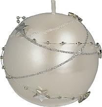 Fragrances, Perfumes, Cosmetics White Decorative Candle, 8cm - Artman Christmas Garland