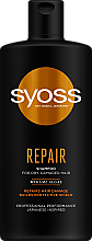Fragrances, Perfumes, Cosmetics Wakame Algae Shampoo for Dry and Damaged Hair - Syoss Repair Shampoo