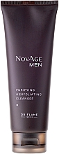 Fragrances, Perfumes, Cosmetics Face Cleanser and Scrub 2-in-1 - Oriflame NovAge Men Purifying & Exfoliating Cleancer