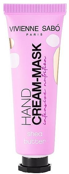 Intensive Nourishing Hand Cream Mask - Vivienne Sabo Intensive Nutrition Hand Cream-Mask — photo N1