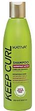 Fragrances, Perfumes, Cosmetics Curly Hair Shampoo - Kativa Keep Curl Shampoo