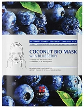 """Fragrances, Perfumes, Cosmetics Firming Mask """"Blueberry"""" - Leader Coconut Bio Mask With Blueberry"""