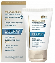 Fragrances, Perfumes, Cosmetics Anti-Pigmentation Hand Skin - Ducray Melascreen Global Hand Care SPF 50+