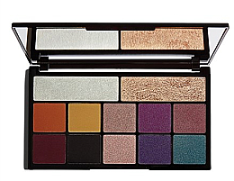 Fragrances, Perfumes, Cosmetics Eye Makeup Palette - Makeup Revolution X Carmi Kiss Of Fire Palette