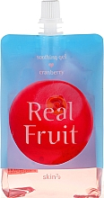 """Fragrances, Perfumes, Cosmetics Body Gel """"Cranberry"""" - Skin79 Real Fruit Real Fruit Cranberry Soothing Gel"""