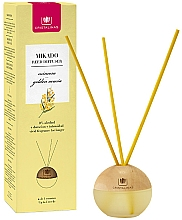 "Fragrances, Perfumes, Cosmetics Reed Diffuser Sphere ""Golden Acacia"" - Cristalinas Mikado Reed Diffuser"