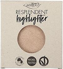 Fragrances, Perfumes, Cosmetics Highlighter - PuroBio Cosmetics Resplendent Highlighter (refill)