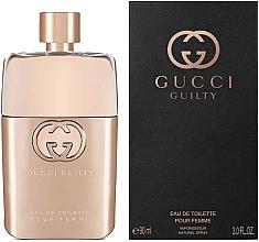 Fragrances, Perfumes, Cosmetics Gucci Guilty Eau de Toilette Pour Femme - Eau de Toilette