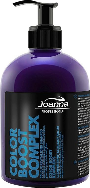 Repair Shampoo for Blonde & Gray Hair - Joanna Professional Color Revitalizing Shampoo