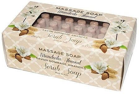 Almond Massage Scrub Soap - Gori 1919 Massage Scrub Soap Almond — photo N1