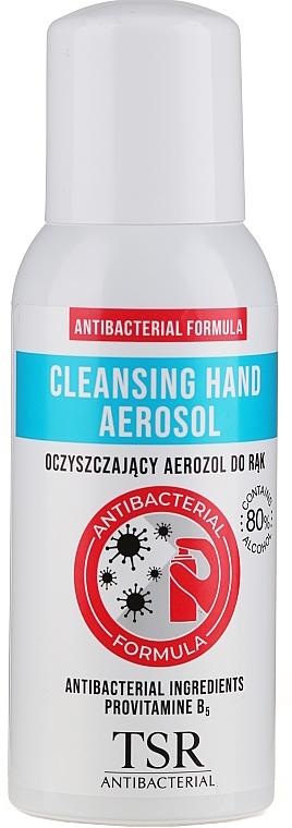 Antibacterial Hand Spray - TSR Antibacterial Cleansing Hand Aerosol