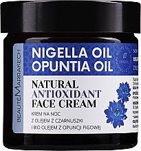 Fragrances, Perfumes, Cosmetics Repair Night Cream with Prickly Pear Oil & Black Cumin - Beaute Marrakech Face Cream
