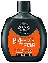 Fragrances, Perfumes, Cosmetics Deodorant - Breeze Men Power Protection Deo Control 48H