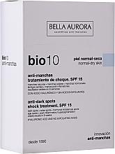 Fragrances, Perfumes, Cosmetics Face Fluid - Bella Auora Bio10 Anti Spots Serum