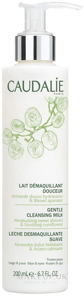 Gentle Face and Eye Makeup Cleansing Milk - Caudalie Cleansing & Toning Gentle Cleanser — photo 200 ml