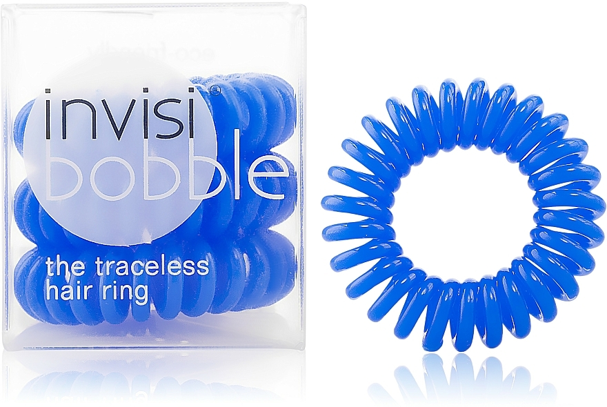 Hair Ring - Invisibobble Navy Blue